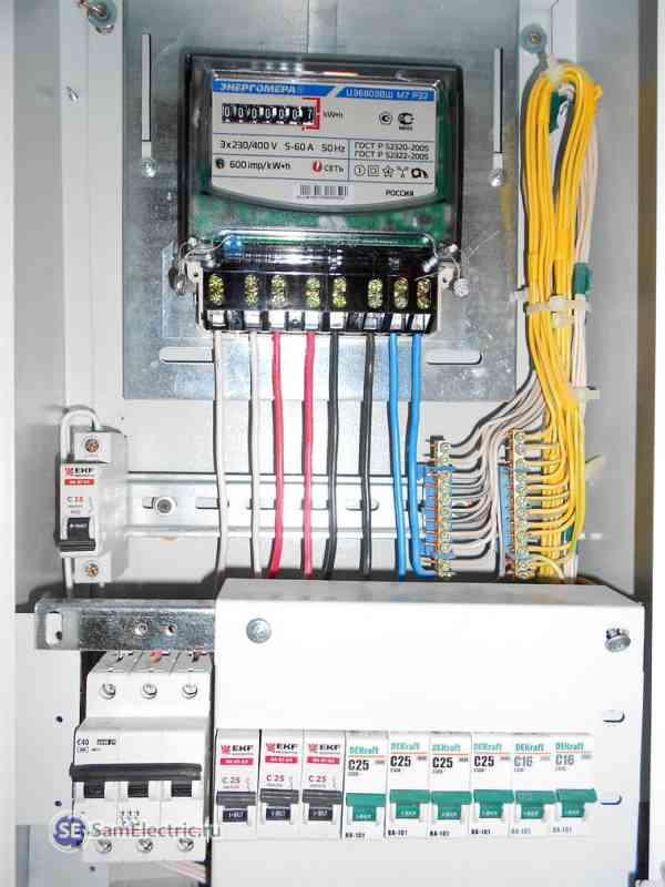 Elektrik sayacı tek fazlıdır: cihazın temel gereksinimleri
