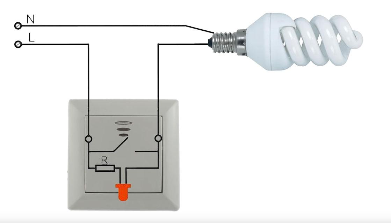 Schema Elettrico Presa Interruttore Lampadina : La lampadina lampeggia costantemente perché la luce lampeggia