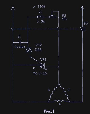 Schema Elettrico Stella Triangolo : Schema di collegamento di un motore a volt senza condensatori