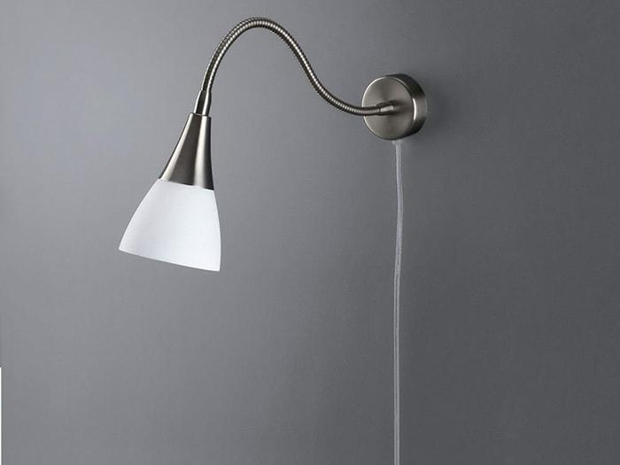 Acquista lampada da parete ella in ottone stile antico lampade