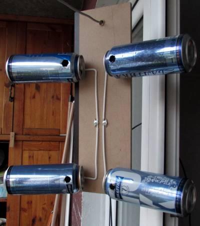 Как сделать антенну из банок от пива 959