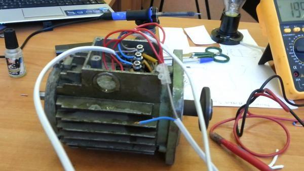 Schema Collegamento Motore Lavatrice 7 Fili : Come collegare un motore elettrico trifase a